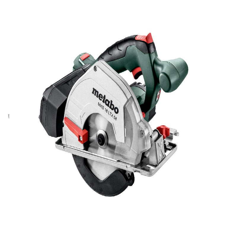 "Sierra Circular Inalámbrica METABO de 6-1/2"" (165 mm) 18V MKS 18 LTX 58 (PICK & MIX)"