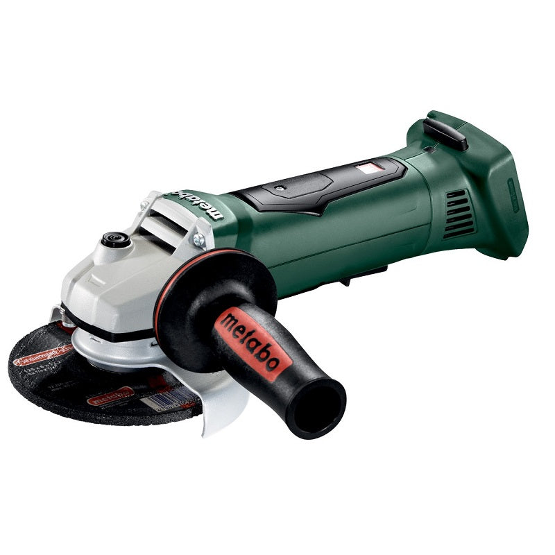"Amoladora Angular METABO de 5"" (125 mm) Inalámbrica 18V WPB 18 LTX BL 125 QUICK (PICK & MIX) METALOC"