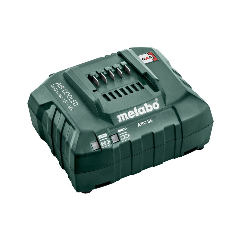 "Cargador de Batería METABO de 12-36 V ""Air Cooled"" ASC 55 (220V)"