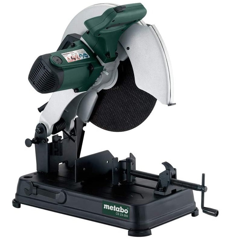 "Tronzadora para Metal METABO de 14"" (355 mm) y 1700 Watts CS 23-355"