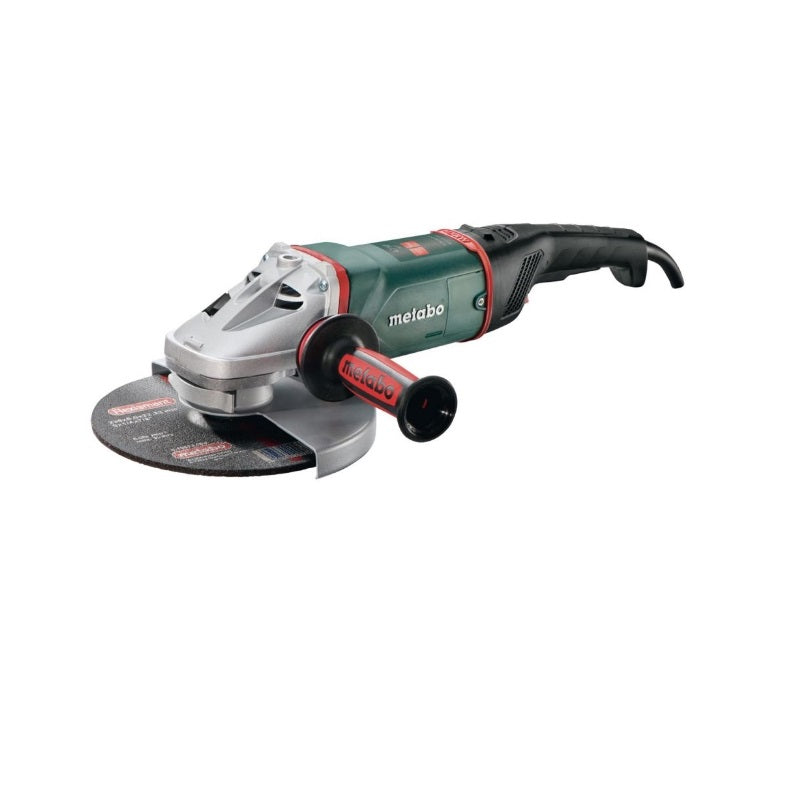 "Amoladora Angular METABO de 7"" (180 mm) 2,400 Watts W 24-180 MVT (220V)"
