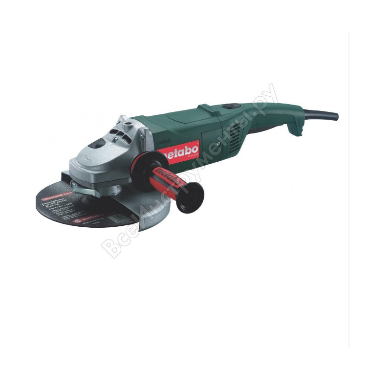 "Amoladora Angular METABO de 7"" (180 mm) 2,400 Watts W 24-180 (220V)"