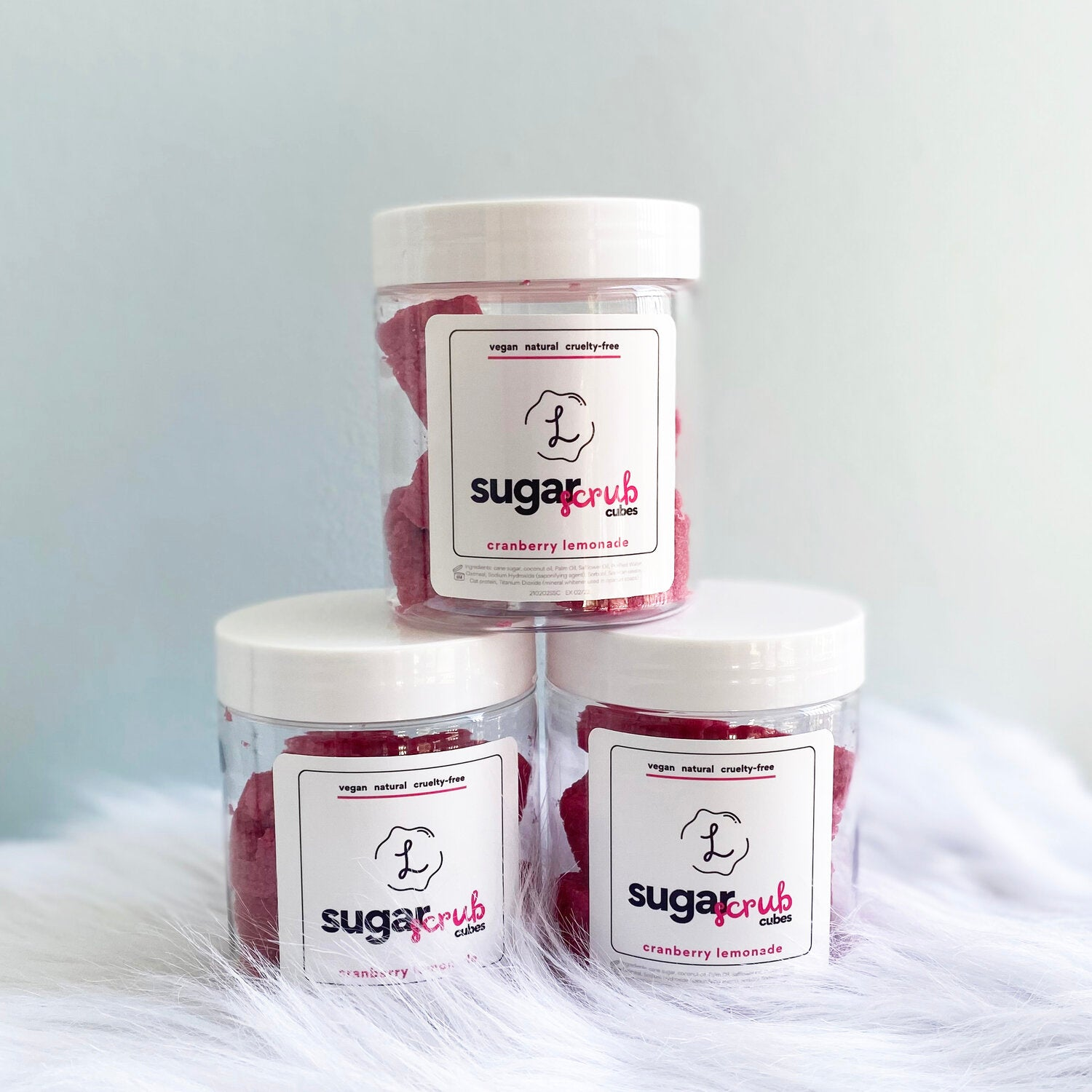 Cranberry Lemonade Sugar Scrub