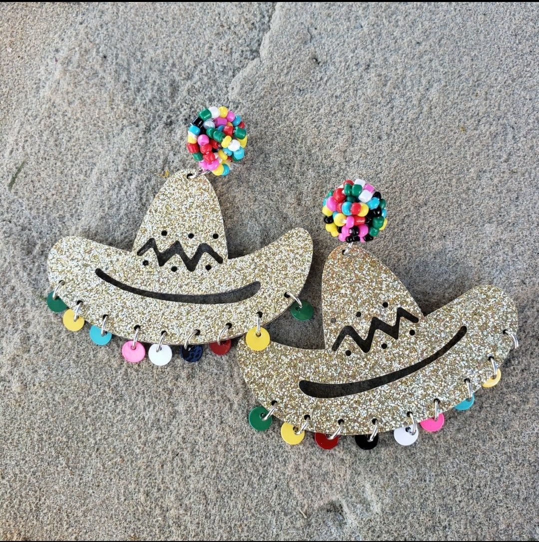 Sombrero Earrings