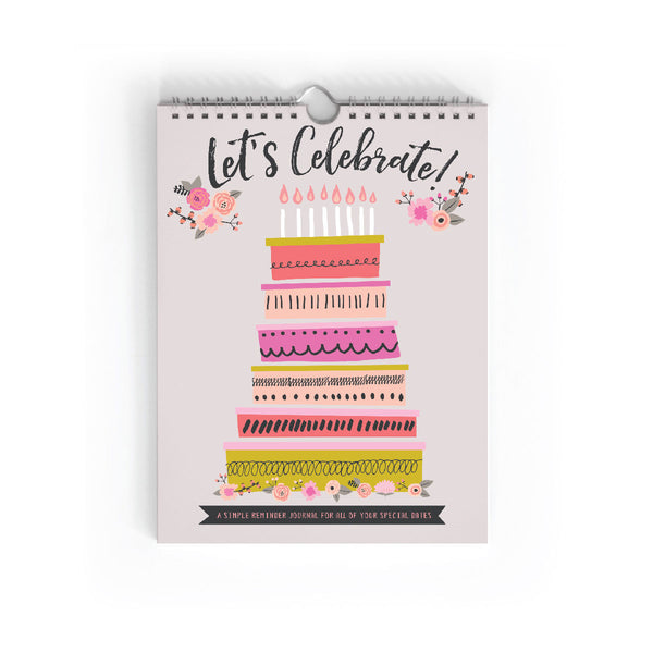 Let's Celebrate! Birthday Book