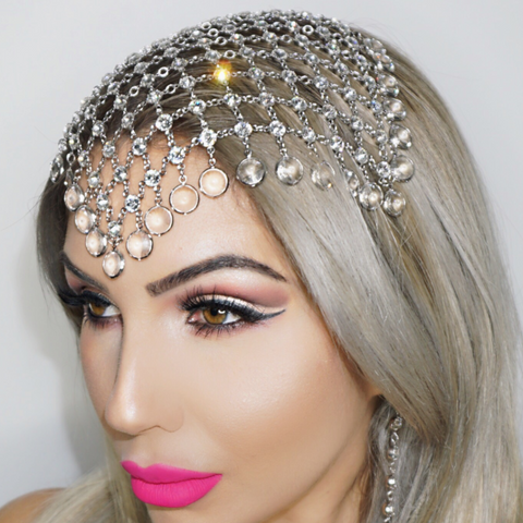 RoyalT Headpiece in Swarovski Crystal