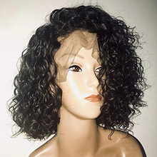 Load image into Gallery viewer, 360 Lace Curly hair full lace short curly wigs