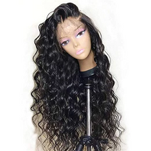 Load image into Gallery viewer, 360 Lace Glueless  Front Wigs for Women Natural Wave Pre-plucked Hairline with Baby Hair