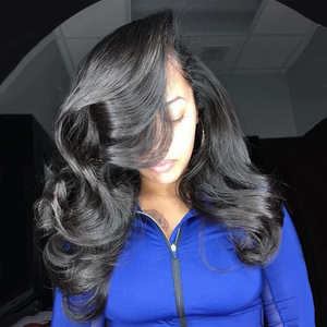 360 Lace Wig Frontal Wig(BODY WAVE) - Human Wig - Black Wig