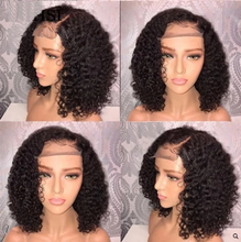 Load image into Gallery viewer, 360 Lace Deep Short Curly Human Hair Wig