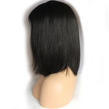 Load image into Gallery viewer, Lace Front Wigs | Straight Human Hair Bob Short Hair Wigs | Baby Hair Lace Front Wigs In Stock