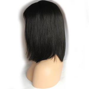 Lace Front Wigs | Straight Human Hair Bob Short Hair Wigs | Baby Hair Lace Front Wigs In Stock