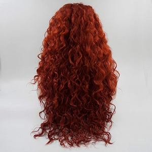 Wine Red Wave Wig | Remy Human Wig