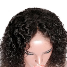 "Load image into Gallery viewer, Short Bob Curly 360 Lace Front Sassy Wigs | ""Green"" Wigs"