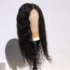 "6"" Deep Parting Fashion Wavy Human Hair Lace Front Wig 16""-24"" Available"
