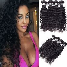 Load image into Gallery viewer, Brazilian human hair deep curly bundle
