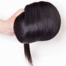 Load image into Gallery viewer, 100% Human Virgin Silky Straight Brazilian Human Hair extensions
