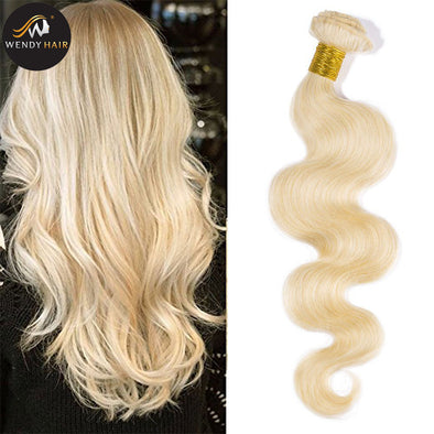 Wholesale Price Blonde Hair Bundle Human Hair for Black Women