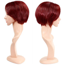 Load image into Gallery viewer, Wendy Hair Red Straight Wig Synthetic Cosplay Daily Party Wig for Women