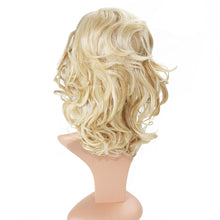 Load image into Gallery viewer, Wendy Hair Wig Women's 2 Tones Wave Synthetic Hair Short Wavy Curly Hair Wigs