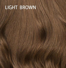 Load image into Gallery viewer, Very Deep Parting Loose Curly Heavy Density Natural Color Brazilian Hair Lace Wigs
