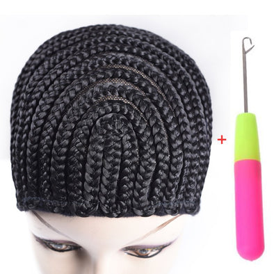 Crochet Cornrows Cap