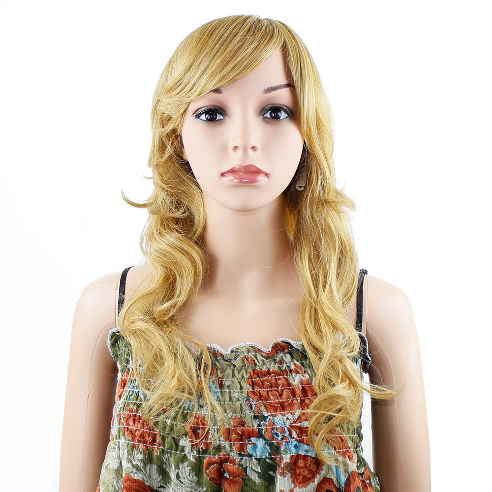 Wendy Hair Blonde Body Wave Wig Synthetic Wigs For Women Fiber Hair Heat Resistant Hair