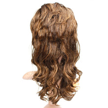 Load image into Gallery viewer, Wendy Hair Ombre Synthetic Full Hair Wig Daily Makeup Shoulder Length Curly Ombre Wig with Bangs