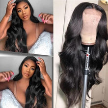 Load image into Gallery viewer, Brazilian Body Wavy 360 Lace Wig | Black/Brown Human Wigs