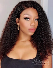 Load image into Gallery viewer, COVERUPBYSELORM - 5X5 CLOSURE WIG MALAYSIAN VIRGIN HAIR LÉONIE CURLY HAIR LACE FRONT WIG - LFC007