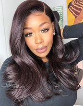Load image into Gallery viewer, DOMINIQUE - 5X5 CLOSURE WIG MALAYSIAN VIRGIN HAIR VALENTINE'S DAY GLUELESS LACE FRONT WIG - LFS007