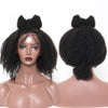 Afro Kinky Curly Lace Front Wig  Short Bob Human Hair Wigs U Part Wig Brazilian Frontal Wig Virgin