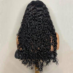 Brazilian Curly 360 Lace Frontal Wigs Lace Front Human Hair Wigs Pre Plucked With Baby Hair Remy Brazilian Lace Wig