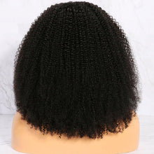 Load image into Gallery viewer, Short Kinky Curly Wigs for Black Women - Human Hair
