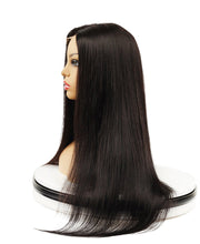 Load image into Gallery viewer, 360 Lace Wig Frontal Hand-Tied Trendy Straight Wig - Human Wig - Black/Brown/Blonde  Wig