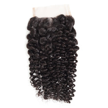 Load image into Gallery viewer, Top grade kinky curly 4*4 lace closure