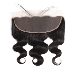 High quality body wave 13*4 lace frontal