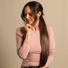 Load image into Gallery viewer, The Bree Ponytail - Brunette