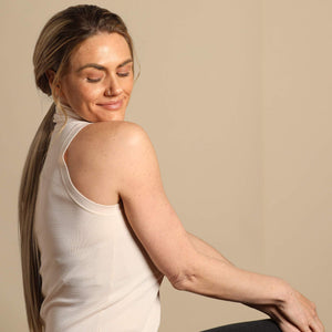 The Bree Ponytail - Ashy Highlighted