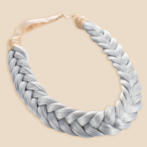 Lulu Two Strand - Silver Grey