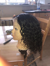 Load image into Gallery viewer, 360 Lace Wig Curly Lace Frontal Human Hair Wig - 200% Density curly