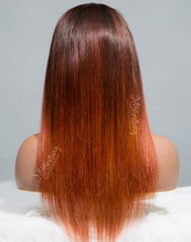 Load image into Gallery viewer, SCORPIO - ZODIAC COLLECTION HUMAN HAIR STRAIGHT OMBRE WIG - ZC007