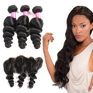 Lose Wave Hair Products Brazilian Human Hair
