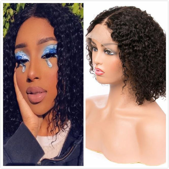 360°Lace Wig Frontal Wig-Remy Human Wig-Black/Brown Wig