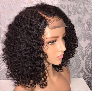 360 Lace Affordable Shoulder Length Curly Wig