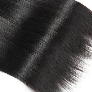 100% Human Virgin Silky Straight Brazilian Human Hair extensions