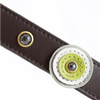 Happy Campers 3 Circles & Hematite Dog Collar
