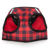 Printed Buffalo Plaid Sidekick Dog Harness