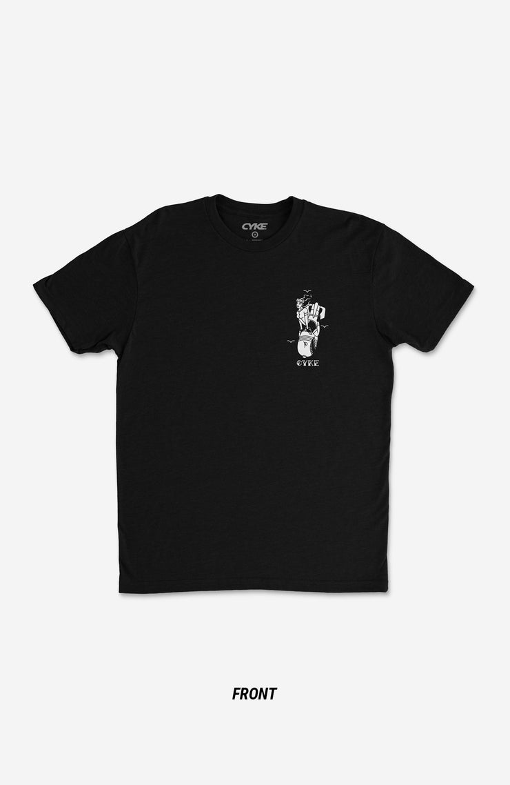 Drop Bars Not Bombs Men's T-shirt Black