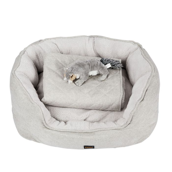 Puppy Calming 3 Pack (Bed, Blanket and Toy)